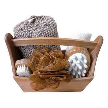 Set cadeau en bambou Croll & Denecke