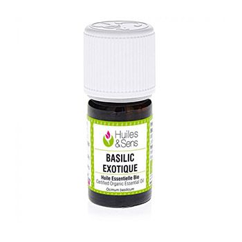 Huile essentielle biologique Basilic Exotique HEBBD 5ml