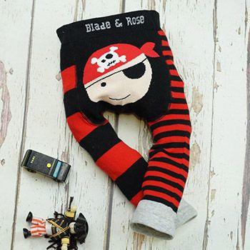 Leggings bébé Blade & Rose - Pirate rayé