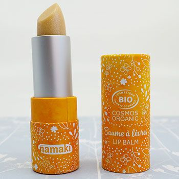 Baume à lèvres brillant nacré Namaki - Vanille