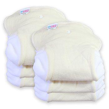 Lot de 6 inserts lavables pour Couche TE2 Petit Lulu
