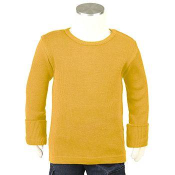 T-Shirt évolutif en laine Manymonths Golden Oat