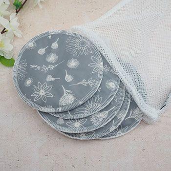 Coussinets d'allaitement lavables en coton bio Bare & Boho