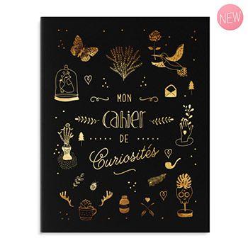 Cahier A5 Créabisontine - Mon carnet de curiosités