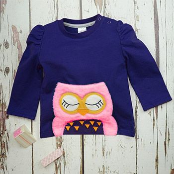 Top à manches longues Blade & Rose Betty Owl