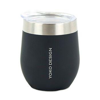 Mug isotherme pour café Yoko Design - Noir