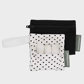Kit de rangement pour tampons lavables Imse Vimse