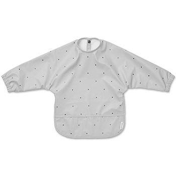 Tablier intégral imperméable en polyester recyclé Liewood - Pois gris