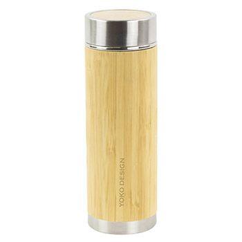 Théière Isotherme Inox 350ml Yoko Design Bambou Zen'n'Go