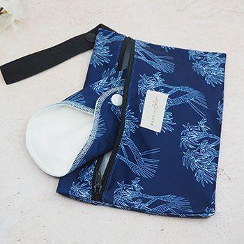 Sac de stockage pour serviettes hygiéniques lavables Bare & Boho