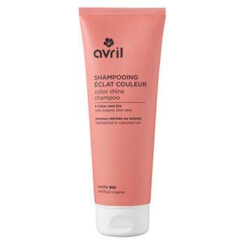 Shampoing éclat couleur certifié bio Avril