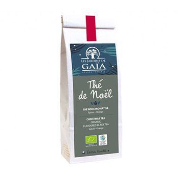 Thé Noir de Noël Les jardins de Gaïa