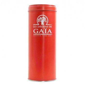 Boite à thé en métal vide 100g Les jardins de Gaïa