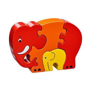 Puzzle éléphant Maman-bébé Lanka Kade