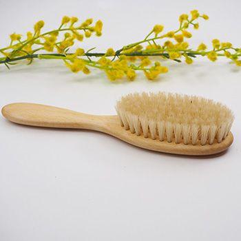 Brosse à cheveux pour enfants en bois de hêtre Redecker