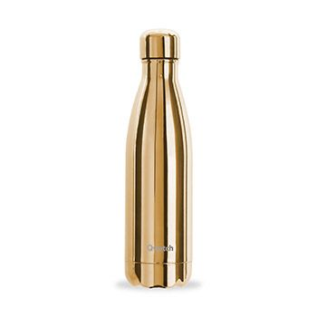 Bouteille isotherme Qwetch 500ml - Metallic Gold
