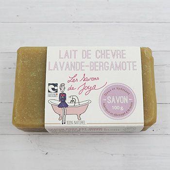 Savon Lait de chèvre, Lavande et Bergamote Les Savons de Joya