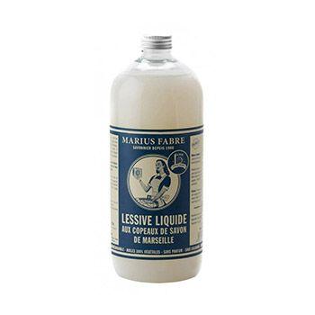 Lessive liquide aux copeaux de savon de Marseille Marius Fabre