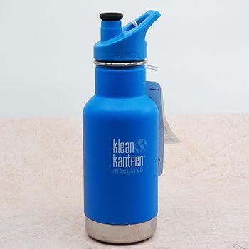 Gourde inox isotherme Kid 350ml Klean Kanteen - Bleu