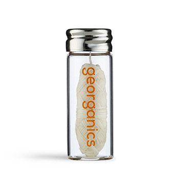 Fil dentaire écologique Georganics - Orange