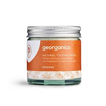 Dentifrice en poudre naturelle Georganics - Orange
