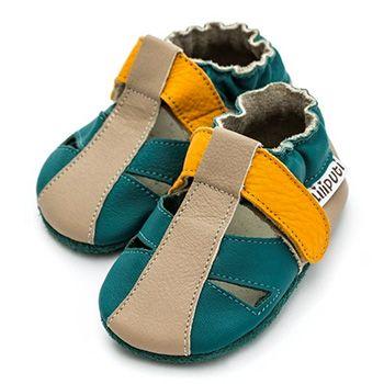 Sandales en cuir souple Liliputi Zulu