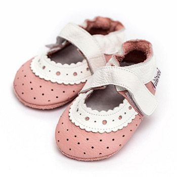 Sandales en cuir souple Liliputi Baby Rose Modèle 2020