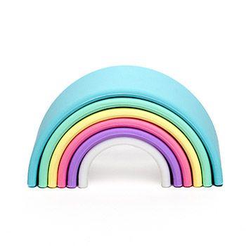 Arc-en-ciel silicone Dëna Collection pastel