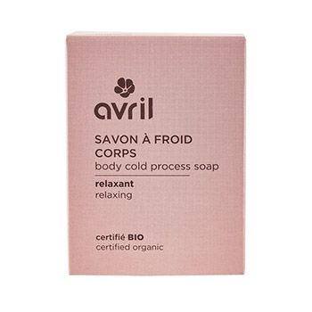 Savon à froid corps Relaxant 100g Avril