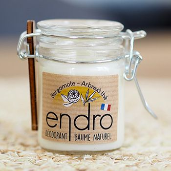 Déodorant baume Endro - Bergamote & arbre à thé
