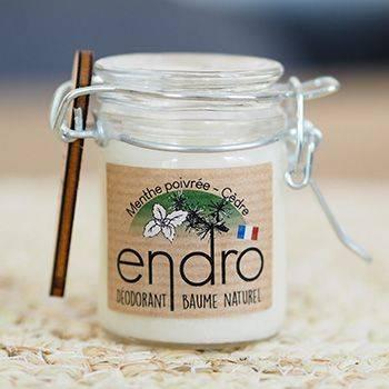 Déodorant baume Endro - Menthe poivrée & cèdre