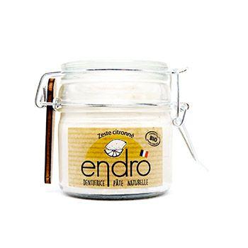 Dentifrice solide Endro - Zeste citronné