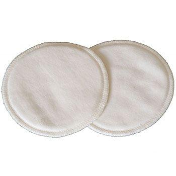 Lot de 3 paires de coussinets d'allaitement Coton bio Popolini