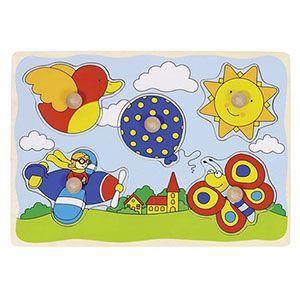 Puzzle à encastrer ballon/soleil Goki