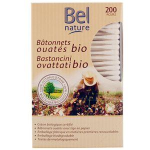 Bâtonnets Ouates Bio Bel Nature
