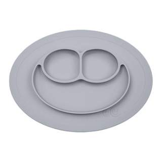 Assiette antidérapante Mini Mat EZPZ - Pewter