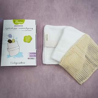 2 gants anti-gaspi + accessoire de gommage Les Tendances d'Emma
