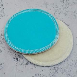 Coussinets d'allaitement lavables Lulu Nature - Coton bio