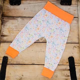 Pantalon en coton bio Culla Di Teby évolutif - Lapins