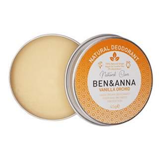 Déodorant crème Ben & Anna -  Vanilla Orchid