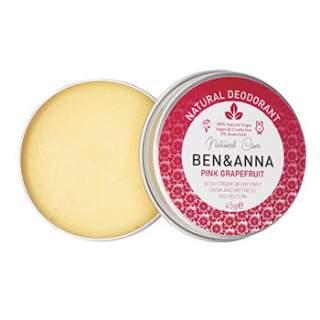 Déodorant crème Ben & Anna - grapefruit