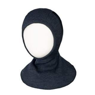 Cagoule en laine mérinos ManyMonths Foggy Black