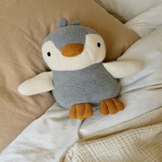 Peluche en coton bio Liewood - Pingouin