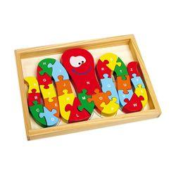 Puzzle Alphabet de pieuvre Legler