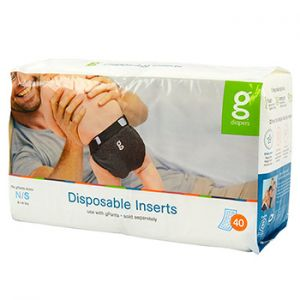 Inserts jetables biodégradables gDiapers
