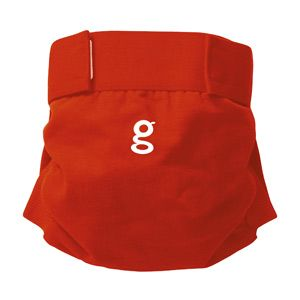 Culotte little gPants gDiapers Good fortune red