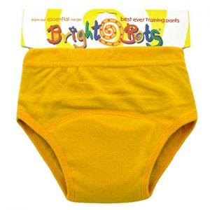 Culotte d'apprentissage Bright Bots jaune
