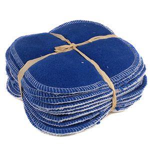 12 lingettes lavables Polaire/velours de bambou Lili Nappy