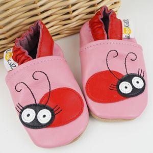 Chaussons en cuir Lookidz Miss ladybug