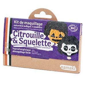 Kit 3 couleurs Citrouille & Squelette Namaki